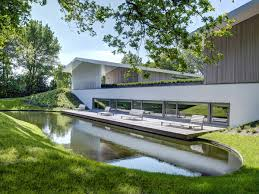 Modern Water Features Deck Water Feature Modern Home In Oosterhout The Netherlands