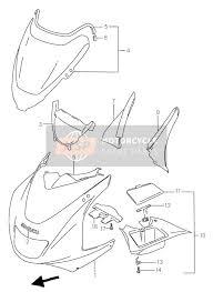 suzuki rfr spare parts msp cowling body rf900r
