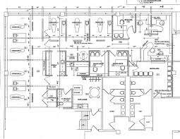 Blueprint Of Floor Plan Kitchen And Bathroom Office Waplag Pediatric Office Floor Plans