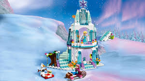 lego frozen elsa ice palace