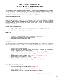 Resume Example For Nurses New Grad Nurse Cover Letter Example
