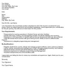 formatting tips for cover letters cover letter format in word