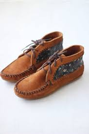 Diy Floral Ankle Boots Minnetonka Moccasin Minnetonka