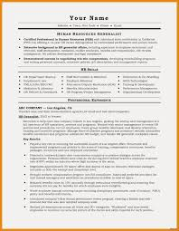 An Example Of A Resume For A Job Free Resume Examples