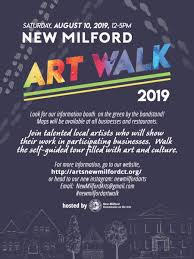 Art Event Flyer Aug 10 New Milford Art Walk 2019 New Milford Ct Patch