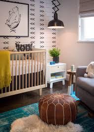 san francisco interior design pany regan baker design diamond heights mid century modern baby nursery wallpaper accordion pendant kids room leather