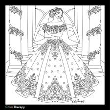 We've got wedding colouring pages for all ages here, from your youngest children to your oldest this bride is dressed for her wedding day. Cream Wedding Dresses Wedding Coloring Pages Coloring Pages For Girls Coloring Pages To Print