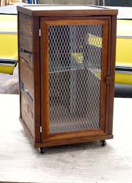 Custom Metal Cabinets Hand Crafted Custom Scotch Display Cabinet In Reclaimed Pallet