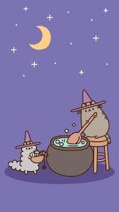 Cute Pusheen Halloween Wallpaper ...
