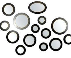 decorative round mirrors convex round mirror ochre vintage convex mirrors iron and brass decorative round mirrors