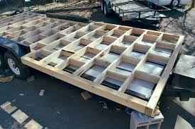 Small Picture Fine Tiny House Trailer Frame Build Your Own On Wheels In Design