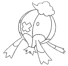 Drifblim Coloring Page Auto Electrical Wiring Diagram