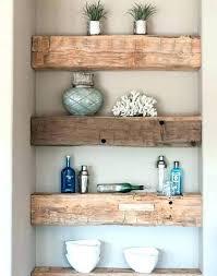 diy floating shelves solid wood chunky wood floating shelves solid wood floating shelves easy chunky wood