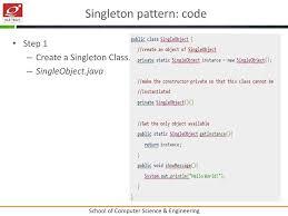 Singleton Pattern In Java Amazing Design