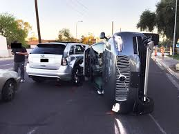 uber redeploys its self driving cars after a wreck in arizona police department