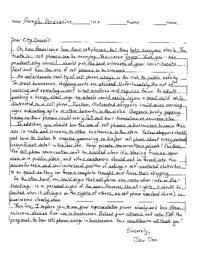Essay Persuasive Examples Persuasive Essay Sample In Staar Test Format
