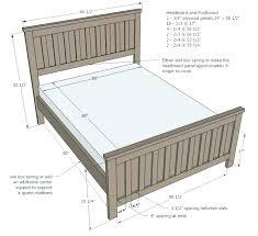 Queen Size Duvet Measurements Cm Width Of Bed Frame Headboard ...