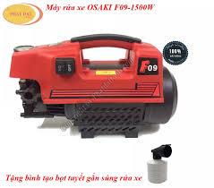 Máy xịt rửa xe gia đình OSAKI F09 1500W-Tặng bình bọt tuyết mini-BH 6  tháng.