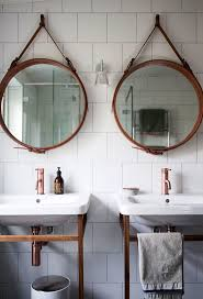 bathroom mirror. Round Battery Led Bathroom Mirror Lights Illuminated With Lighting Bathrooms I