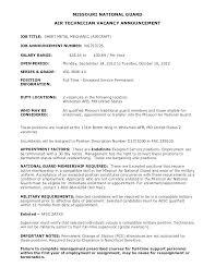 Federal Job Resume Format – Resume Sample Source