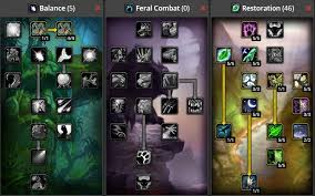 World Of Warcraft Classic Druid Build List Best Druid Builds