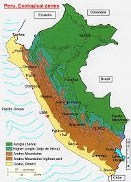 Lima Peru Climate Chart Peru Climate Zones