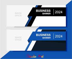 Desain Banner Desain Banner Untuk Bisnis Dengan Tampilan Elegan Studio Art