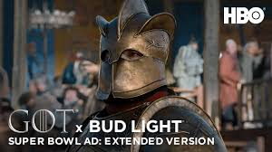 No Bud Light Superbowl Commercials Game Of Thrones X Bud Light Official Super Bowl Liii Ad Extended Version Hbo