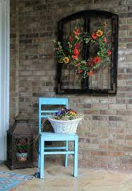 You can find vintage and antique styles or modern and contemporary art to add to your home display. How To Beautify Your House Outdoor Wall Decor Ideas Porch Wall Decor Outdoor Wall Decor Rustic Outdoor Wall Decor