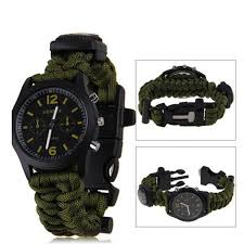 compare prices on watches men survival online shopping buy low 2016 hot straps watch compass ignition buckle bracelet for man survival bracelet 4 colors