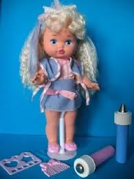 mattel lil miss makeup you put ice in the blue wand hot water pink could draw