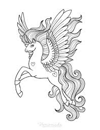 Our cute unicorn pictures are truly unique, my son drew most of them! 75 Magical Unicorn Coloring Pages For Kids Adults Free Printables