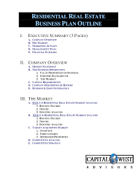 Real Estate Business Plan Template Proposals Real Estate Proposal Template In Word Google Docs Apple 21