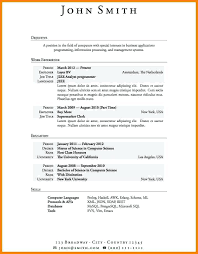 Resume Experience Examples Unique Resume With No Work Experience