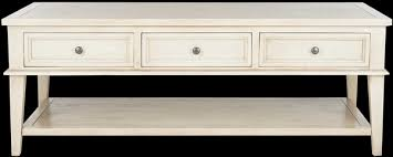 safavieh manelin coffee table in white