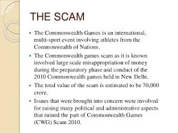 commonwealth games scam  commonwealth games 7