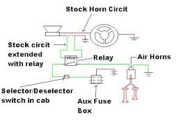 air horn problems yotatech forums Car Air Horn Wiring Diagram Motorcycle Horn Wiring Diagram