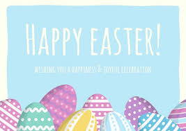 Easter Templates Customize 62 Easter Card Templates Online Canva
