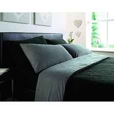 l f black and grey comforter