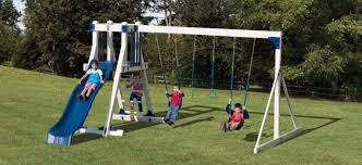 kid s swing sets vinyl playsets