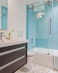 Blue Tile Bathroom Paint Colors Fixtures Ideas Floor Tiled Light ...