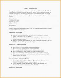 Associate Attorney Resume Sample Examples Of Paralegal Resumes
