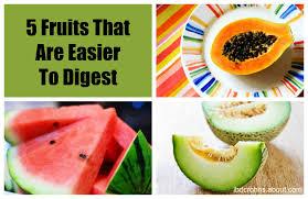 papaya watermellon and a honey dew melon