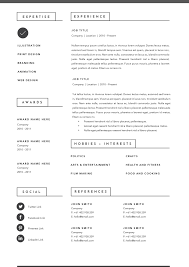 3 Page Resume Template Indd Docx By Basic Creations On