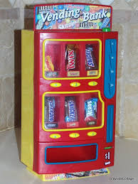 Vending Machine Bank Delectable Vintage Candy Dispenser Vending Machine Bank Fun Size Candies