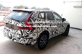 2018 volvo xc60 spy shots. 2018 volvo xc60 suv spied in india ahead of december launch xc60 spy shots