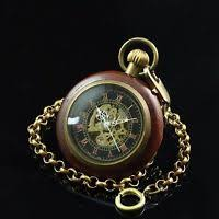 open face steampunk square case skeleton wind up pocket watch for open face trim wood copper case black skeleton r dial wind up pocket watch
