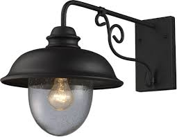 Appealing Outdoor Wall Light Fixtures Black Wood With Yellow Glass - Exterior light fixtures