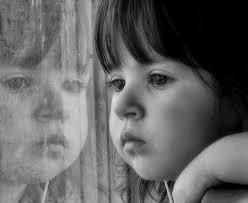 cute sad baby alone wallpaper