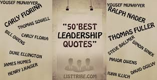 Famous Leadership Quotes Best 48 Famous And Inspiring Leadership Quotes